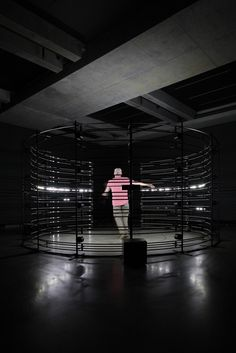 United Visual Artists '440 Hz' Interactive light + sound installation at the Museum of Old and New Art (MONA) as part of the On the Origin of Art exhibition in Hobart, 2016 - Photographed by NOMA*