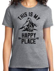 This is My Happy Place Camping Outdoors Men's & Women's by idiopix