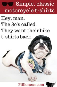 If it's been awhile (like a decade or more) since you bought a new motorcycle t-shirt, maybe the time is right to splash out!