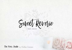 Daily Logo SALE by The Paris Studio, Madame Levasseur - Watercolor Logo, Vintage Logo, Rustic Logo, Photography Logo, Wedding Logo, Arrow Logo Rustic Floral Bouquet Logo Design for e-commerce website logo, wordpress blog logo, boutique logo, photography branding, wedding logo, website branding design. 標誌設計, 網絡設計, 餐廳標誌設計,平面设计,網絡廣告設計