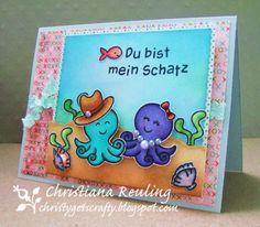 Christy Gets Crafty: Du Bist Mein Schatz (You Are My Treasure) - Lawn Fawn
