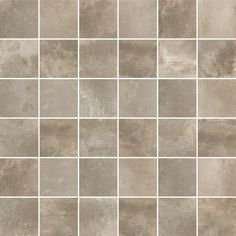 Inspiration for these Italian glazed porcelain tiles, is drawn from a crossover effect that combines cement and stone. Contemporary and classical design combined to give you a distinctive effect, Cocoon has all the finishing touches -including these mosaics which are cut from the plain tiles for perfect coordination allowing you to add decorative flair or perhaps use as a wet room shower area. #mosaictile #mosaicwall #stonetile #cementtile #walltile #floortile #mosaiceffect #decor #diy #bathroom Brick Tiles, Grey Tiles, Stone Tiles, Mosaic Wall, Mosaic Tiles, Mosaics, Floor Grout, Tile Floor, Room Tiles