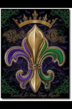 I have the fleur di lis, maybe I should add the crown to my tat