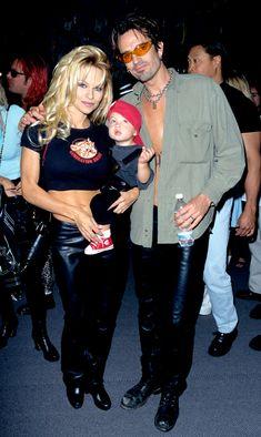 Pamela Anderson's Teenage Boys, the New Kids on the Block - Pamela Anderson