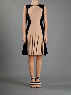 AQUILANO.RIMONDI  TWO-TONE DRESS