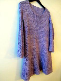 La Mimmiita: SUPERHELPPO NEULEMEKKO Pullover, Knitting, Sweaters, How To Make, Diy, Fashion, Ponchos, Moda, Tricot