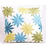Multicolor Floral Pattern Cushion Cover