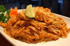 Recipe | Thai Noodles  Peanut Sauce