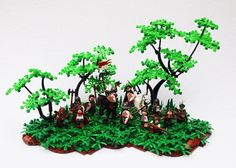 CCCXI Welsh Warband by Mark Erickson/Mark of Falworth. I love the trees