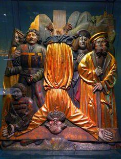 Kreuzigung Apostel Petrus Lindenholz um 1500, Stadt- und Industriemuseum Wetzlar #wetzlar #leica #photograpghy #peckolinos http://www.wetzlar.de/index.phtml?NavID=370.3&La=1