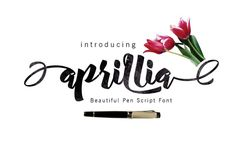 Aprillia Script by Rabbittype on @creativemarket