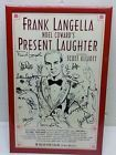 Frank Langella Noel Coward's Present Laughter Broadway poster signed cast Rare! - *RARE*, Broadway, cast, Coward's, FRANK, LANGELLA, Laughter, NOEL, POSTER, Present, Signed