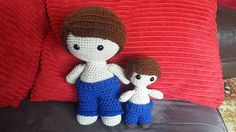Here Weebee and Little Weebee trousers w/ optional flare - Trousers ONLY, see other pin for actual doll