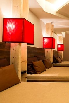 SPA im feldmilla. designhotel in Südtirol: https://www.travelcircus.de/feldmilla-designhotel-sand-in-taufers #spa #wellness #wellnessurlaub