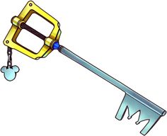 which keyblade would @Eli Burton get...lots to choose from...
