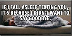 Good night text will help you sleep