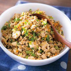 鶏ひき肉といろいろ野菜の炒り豆腐 | だいどこログ[生協パルシステムのレシピサイト]
