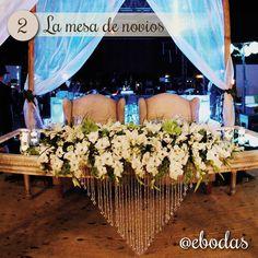 #Grooms #Table #Inspiration #Novios #Mesa #Boda #Flores #Noche