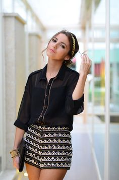 Lovely Pepa for Suiteblanco night Little Dresses, Nice Dresses, Short Dresses, Spring Summer Fashion, Autumn Winter Fashion, How To Look Classy, Classy Style, Stay Classy, Pinterest Fashion