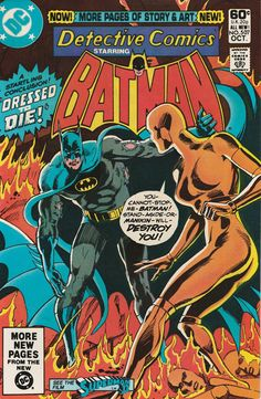 Detective Comics Vol. 45 No. 507 1981 by TheSamAntics on Etsy