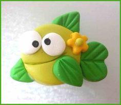 Michelles Clay Beads, etc: Simple Fish Tutorial