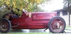 1930 Fiat racing car