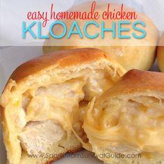 Easy Homemade Chicken Kloaches