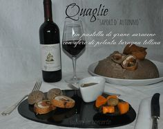 Le quaglie in pastella con polenta taragna di Antonella