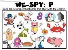 Letter P Activities  Alphabet    Activities Phonics