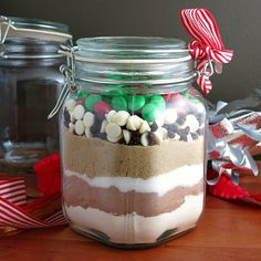 Candy Cookies in a Jar from Alida's Kitchen #HandcraftedHolidays