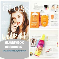 Glossybox Mai Unboxing auf testbeautyblog.com
