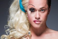Leland Bobbé's Half-Drag Photos Show New York's Drag Queens In And Out Of Makeup