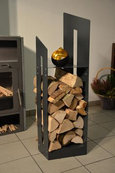 Firewood, Crafts, Home Decor, Interiors, Check, Living Room Ideas, Wood Wall, Fireplaces, Living Room Mirrors