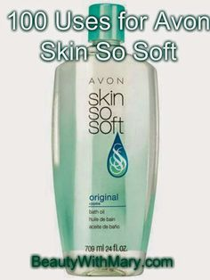 Over 100 Uses for Avon Skin So Soft. Protect your animals: Horses, Dogs, Cats…