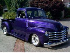 Chevrolet Custom Pick-Up Truck✿ Old Pickup Trucks, Gm Trucks, Cool Trucks, Truck Drivers, Cars Vintage, Antique Cars, Antique Trucks, Custom Trucks, Custom Cars