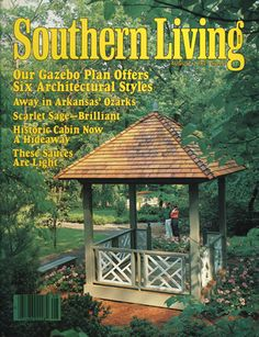 August 1982 | Our Gazebo Plan Offers Six Architectural Styles