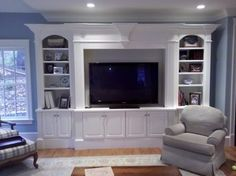 gorgeous white builtin entertainment center | 17,235 Built in Entertainment center with white Home Design Photos