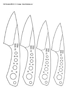 395 Best Knife Templates Images In 2019 Knife Patterns Knife