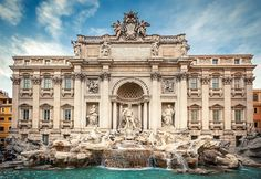 Visit the Trevi fountain in Rome, Italy - TICKED