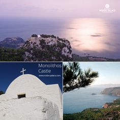 Do not miss visiting the village of Monolithos with its unique castle! The castle stands on the outcrop of an isolated rock from which the name Monolithos (lonely rock) is derived!  Leave your car and walk to the summit of the rock, to enjoy the amazing view from the top!  A must visit place in Rodos island!  Do not miss it!  www.rodos-palace.com