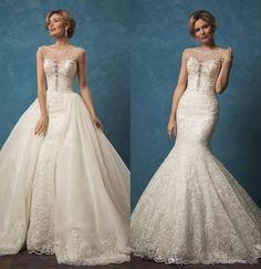 21 Smart Convertible Wedding Dresses | HappyWedd.com #PinoftheDay #smart #convertible #wedding #dresses #WeddingDress