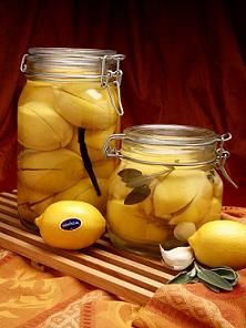 Many Moroccan and Middle Eastern recipes call for Preserved Salted Lemons, lemons that have been pickled in salt and their own juices.