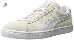 PUMA Women's Suede Classic Lo Winterized Sneaker, Vaporous Gray/White, 8 M US - Puma sneakers for women (*Amazon Partner-Link)