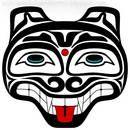 haida art wolf