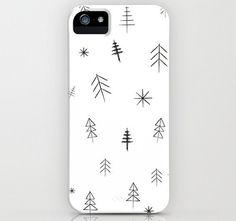 La Navidad más minimalista, en la funda del móvil.