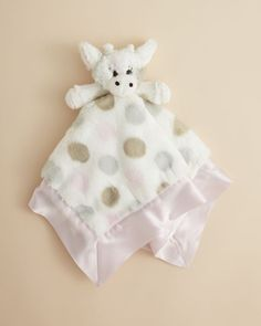 The new face of her favorite blanky, this plush Little G Buddy blanket features…