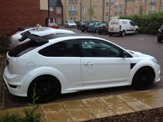 "PUMASPEED UPGRADE 2009 FORD FOCUS RS 2.5 White 19"" RS500 Alloys 400BHP - http://www.fordrscarsforsale.com/1263"