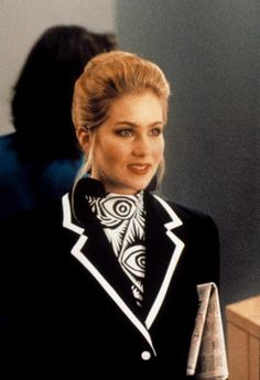 """Job interview outfit-Don't Tell Mom the Babysitter's Dead (""""Sue Ellen! We are in the bowels of the fashion industry"""")"""