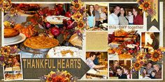 THANKFUL HEARTS - THANKSGIVING 2004 - TEMPLATE: Double the Fun #2 by…
