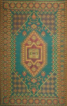 Mad Mats® Oriental Turkish Indoor/Outdoor Floor Mat, 4 by 6-Feet, Aqua, http://www.amazon.com/dp/B0014GJ7EY/ref=cm_sw_r_pi_awdm_2yk2wb14RAW7Q